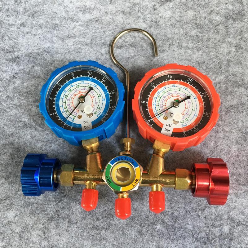 Đồng hồ áp suất đo gas máy lạnh